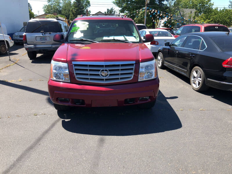 2006 Cadillac Escalade for sale at ET AUTO II INC in Molalla OR
