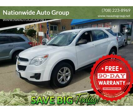 2014 Chevrolet Equinox for sale at Nationwide Auto Group in Melrose Park IL