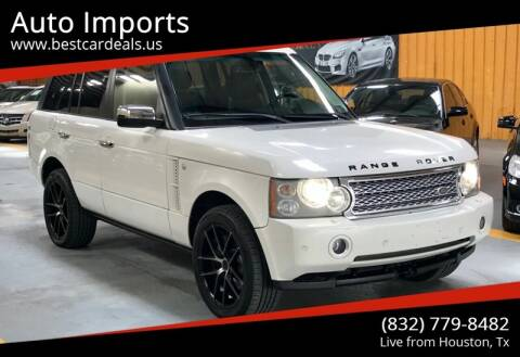 2008 Land Rover Range Rover for sale at Auto Imports in Houston TX