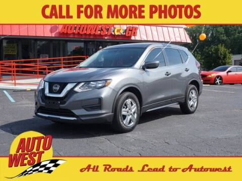 2018 Nissan Rogue for sale at Autowest of GR in Grand Rapids MI