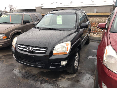 2007 Kia Sportage for sale at American Auto Group LLC in Saginaw MI