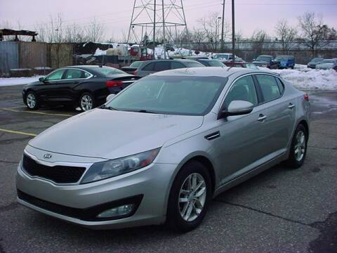 2012 Kia Optima for sale at VOA Auto Sales in Pontiac MI