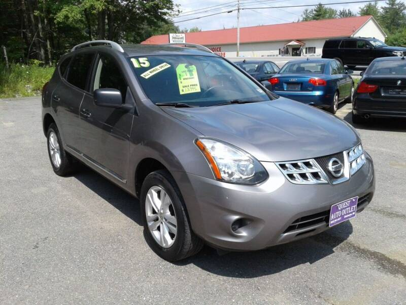2015 Nissan Rogue Select for sale at Quest Auto Outlet in Chichester NH