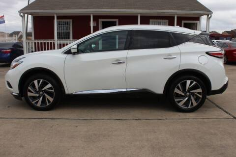 2016 Nissan Murano for sale at AMT AUTO SALES LLC in Houston TX