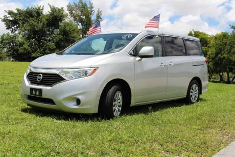 2012 Nissan Quest for sale at CHASE MOTOR in Miami FL