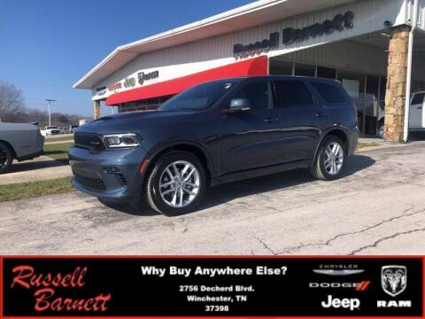 2021 Dodge Durango for sale at Russell Barnett Chrysler Dodge Jeep Ram in Winchester TN