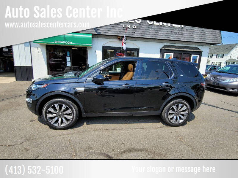2018 Land Rover Discovery Sport for sale at Auto Sales Center Inc in Holyoke MA