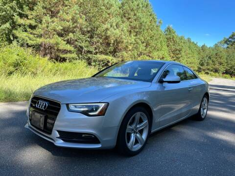 2013 Audi A5 for sale at Carrera AutoHaus Inc in Clayton NC