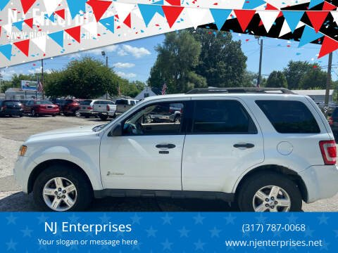 2011 Ford Escape Hybrid for sale at NJ Enterprises in Indianapolis IN