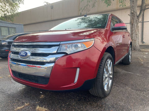 2013 Ford Edge for sale at GO GREEN MOTORS in Lakewood CO