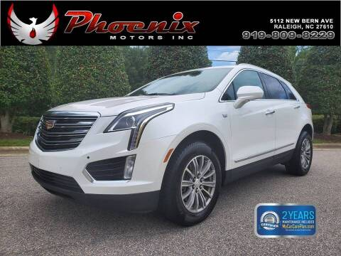 2017 Cadillac XT5 for sale at Phoenix Motors Inc in Raleigh NC