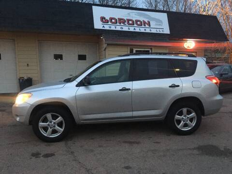 2006 Toyota RAV4 for sale at Gordon Auto Sales LLC in Sioux City IA