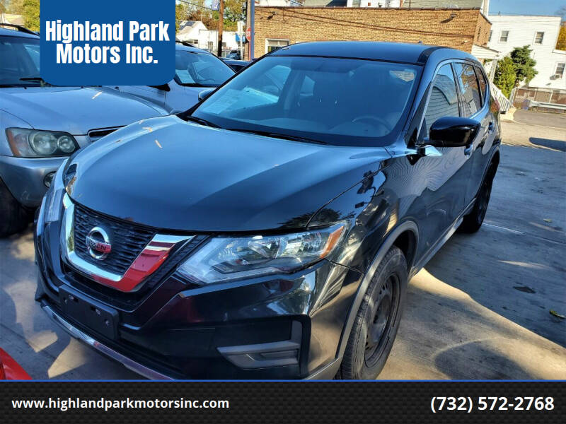 2017 Nissan Rogue for sale at Highland Park Motors Inc. in Highland Park NJ