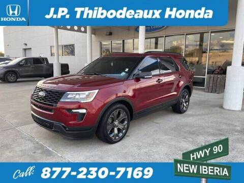 2018 Ford Explorer for sale at J P Thibodeaux Used Cars in New Iberia LA