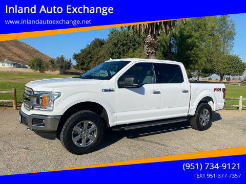 2018 Ford F-150 for sale at Inland Auto Exchange in Norco CA