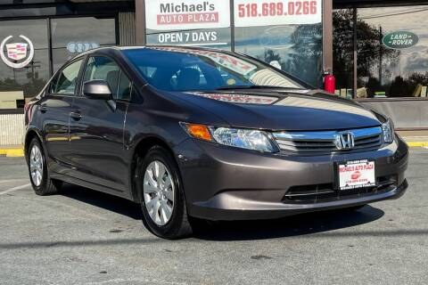 2012 Honda Civic for sale at Michaels Auto Plaza in East Greenbush NY