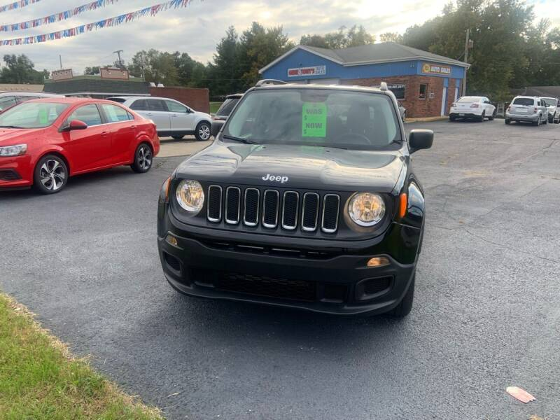 2017 Jeep Renegade for sale at GENE AND TONYS DEMOTTE AUTO SALES in Demotte IN