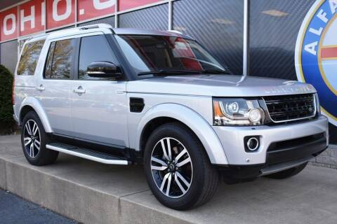 2016 Land Rover LR4 for sale at Alfa Romeo & Fiat of Strongsville in Strongsville OH