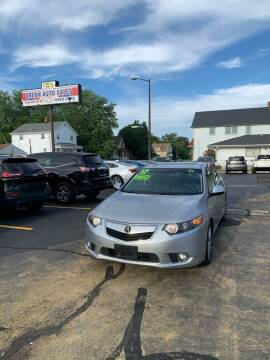 2012 Acura TSX for sale at Dream Auto Sales in South Milwaukee WI