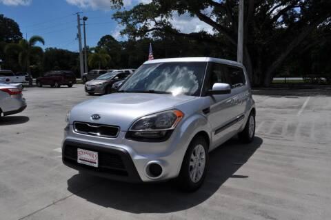 2012 Kia Soul for sale at STEPANEK'S AUTO SALES & SERVICE INC. in Vero Beach FL