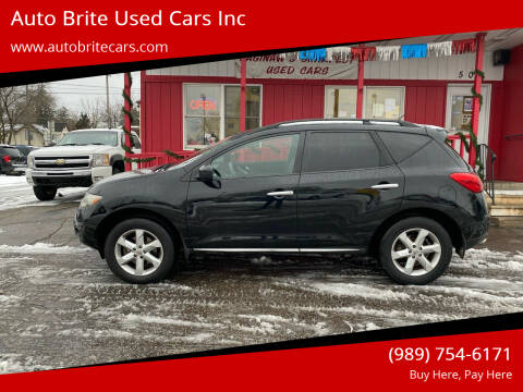 2009 Nissan Murano for sale at Auto Brite Used Cars Inc in Saginaw MI