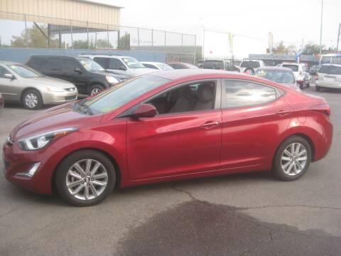 2015 Hyundai Elantra for sale at Town and Country Motors - 1702 East Van Buren Street in Phoenix AZ
