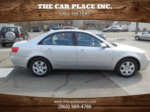 2010 Hyundai Sonata for sale at THE CAR PLACE INC. in Somersville CT