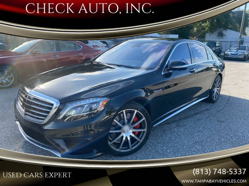 2015 Mercedes-Benz S-Class for sale at CHECK AUTO, INC. in Tampa FL