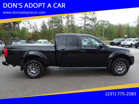 2012 Nissan Frontier for sale at DON'S ADOPT A CAR in Cadillac MI
