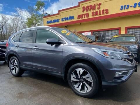 2016 Honda CR-V for sale at Popas Auto Sales in Detroit MI