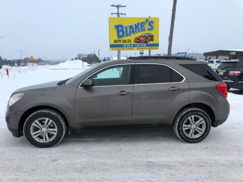 2010 Chevrolet Equinox for sale at Blake's Auto Sales in Rice Lake WI