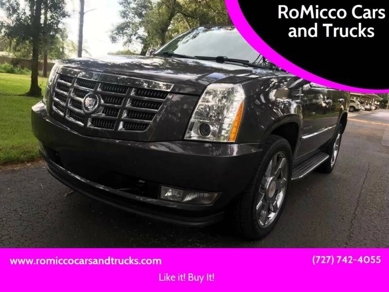 2011 Cadillac Escalade for sale at RoMicco Cars and Trucks in Tampa FL