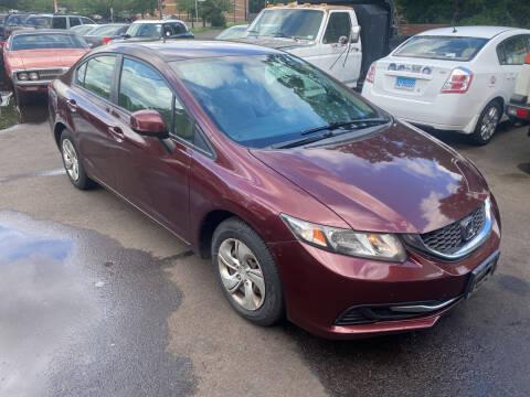 2013 Honda Civic for sale at Vuolo Auto Sales in North Haven CT