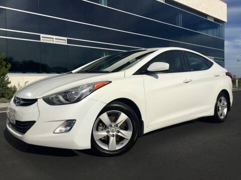 2013 Hyundai Elantra for sale at San Diego Auto Solutions in Escondido CA