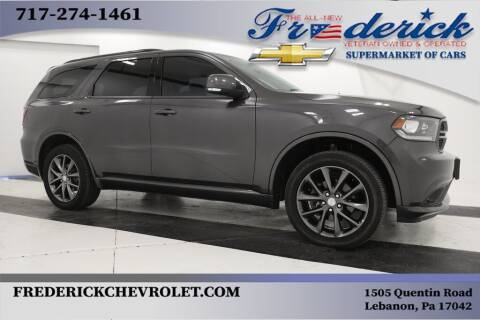 2018 Dodge Durango for sale at Lancaster Pre-Owned in Lancaster PA