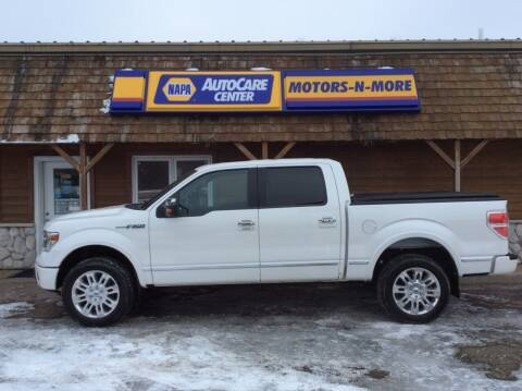 2013 Ford F-150 for sale at MOTORS N MORE in Brainerd MN