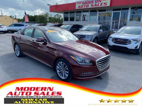 2016 Hyundai Genesis for sale at Modern Auto Sales in Hollywood FL