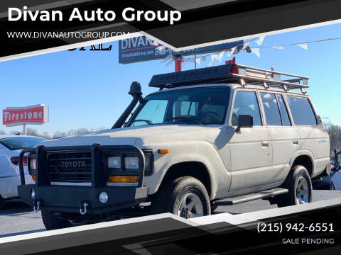 1991 Toyota Land Cruiser for sale at Divan Auto Group in Feasterville Trevose PA
