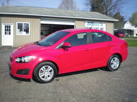 2012 Chevrolet Sonic for sale at Starrs Used Cars Inc in Barnesville OH