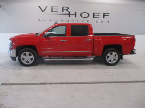 2017 Chevrolet Silverado 1500 for sale at Ver Hoef Automotive Inc in Sioux Center IA