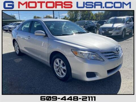 2010 Toyota Camry for sale at G Motors in Monroe NJ