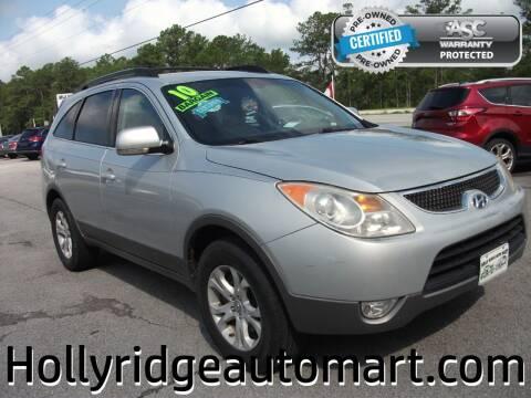 2010 Hyundai Veracruz for sale at Holly Ridge Auto Mart in Holly Ridge NC