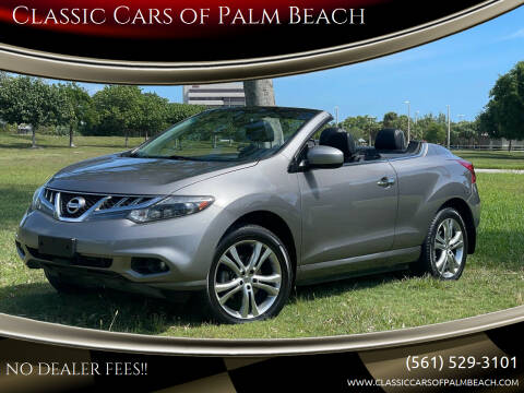 2011 Nissan Murano CrossCabriolet for sale at Classic Cars of Palm Beach in Jupiter FL