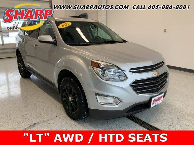 2017 Chevrolet Equinox for sale at Sharp Automotive in Watertown SD