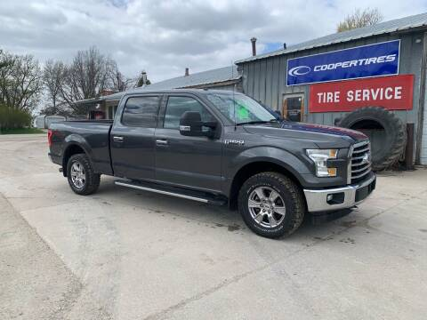2017 Ford F-150 for sale at GREENFIELD AUTO SALES in Greenfield IA