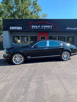2016 Bentley Mulsanne for sale at Gulf Coast Exotic Auto in Biloxi MS
