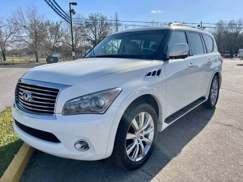 2012 Infiniti QX56 for sale at Southeast Auto Inc in Baton Rouge LA