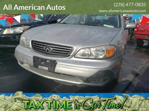2004 Infiniti I35 for sale at All American Autos in Kingsport TN
