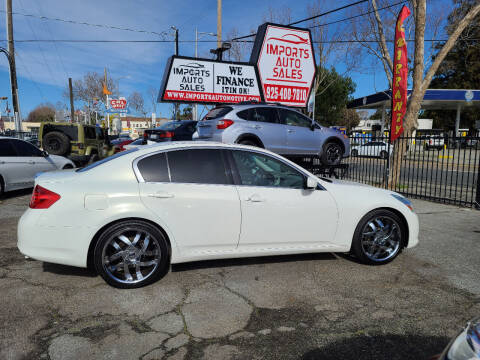 2011 Infiniti G37 Sedan for sale at Imports Auto Sales & Service in San Leandro CA