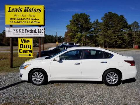 2015 Nissan Altima for sale at Lewis Motors LLC in Deridder LA